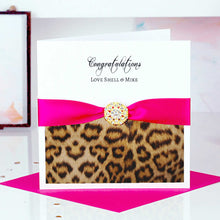 Load image into Gallery viewer, Different Exam Congratulations card Leopard - theluxeco.co.uk
