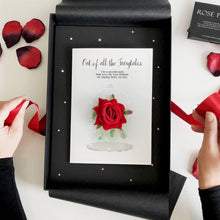 Load image into Gallery viewer, Red rose anniversary cards | The Luxe Co