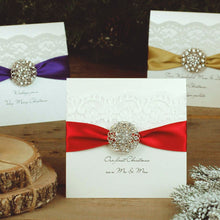 Load image into Gallery viewer, first christmas as husband and wife personalised christmas cards | The Luxe Co