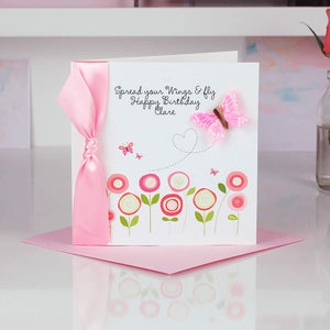 Flutter Pastel Butterfly Card - theluxeco.co.uk