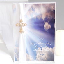 Load image into Gallery viewer, Heavenly Clouds Boxed Religious Card - theluxeco.co.uk