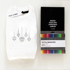 Colour Your Own Personalised Christmas jumper