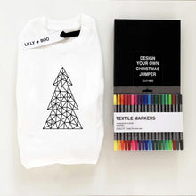 Load image into Gallery viewer, Colour Your Own Personalised Christmas jumper