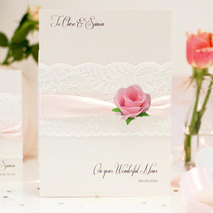 Flower engagement cards