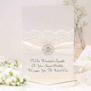 Luxury large personalised birthday cards | The Luxe Co