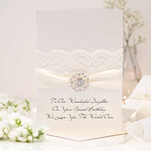 Load image into Gallery viewer, Luxury personalised handmade birthday cards | The Luxe Co