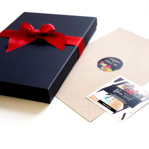 personalised gift box birthday cards - theluxeco.co.uk