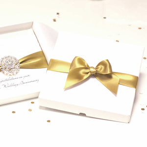 Opulence luxury christening cards with box | The Luxe Co