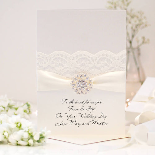 Personalised Luxury wedding cards | The Luxe Co