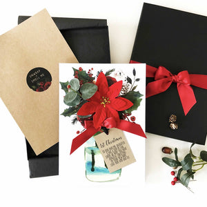 Personalised christmas card for wife husband | The Luxe Co