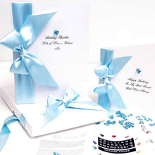 Load image into Gallery viewer, Aquamarine birthstone birthday card | The Luxe Co