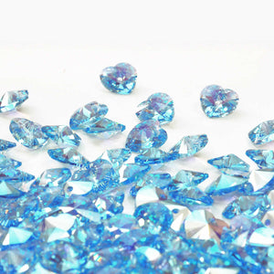Birthstone for March - Aquamarine a pale blue sea water colour derived from the latin 'SeaWater'. Said to promote balance and harmony and well being said to have courageous and protective properties.