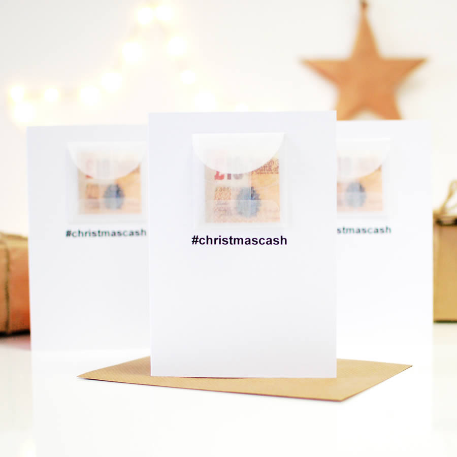 Pack of personalised christmas cards | The Luxe Co
