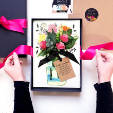 Load image into Gallery viewer, Scented Bloom bouquet flowers cards | The Luxe Co