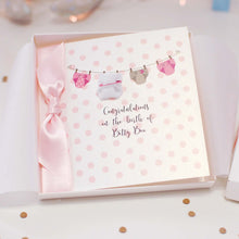 Load image into Gallery viewer, New baby congratulations card | The Luxe Co