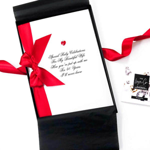 Luxury A4 large valentines card | The Luxe Co