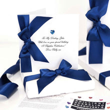 Load image into Gallery viewer, Sapphire birthstone birthday card | The Luxe Co