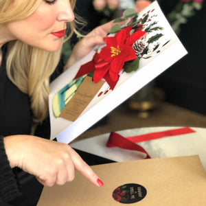 Luxury christmas card for wife | The Luxe Co