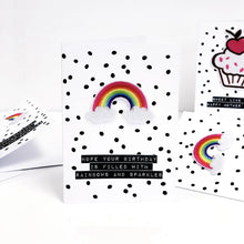 Load image into Gallery viewer, Rainbow good luck cards | The Luxe Co
