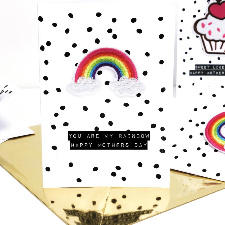Rainbow Mothers Day Card | The Luxe Co