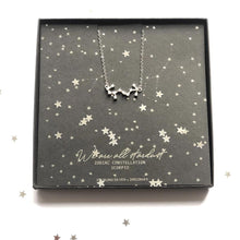 Load image into Gallery viewer, aquarius constellation necklace | Zodiac gifts by The Luxe Co