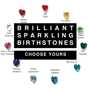 Birthstone Luxe Tassle Gift Boxed Card - theluxeco.co.uk