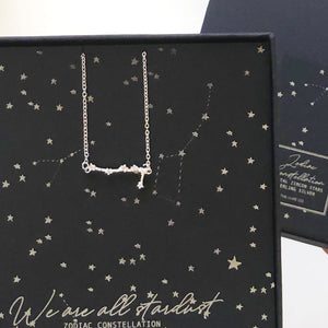 Zodiac necklace | birthday jewelry for her | The Luxe Co