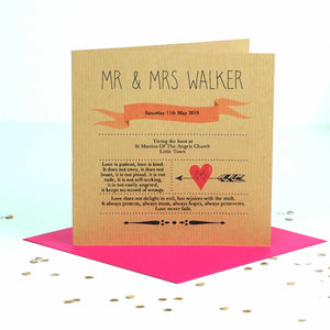 First Married Valentines Day Card | The Luxe Co