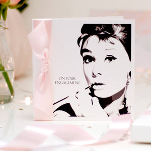 Tiffany Personalised Stylish Card - theluxeco.co.uk