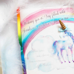 3d Rainbows and Unicorns birthday cards | The Luxe Co