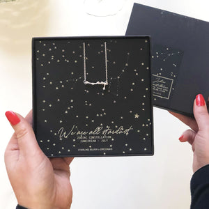 Star sign necklace - The Luxe Co