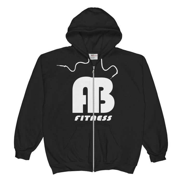 AB Zip-Up Hoodie with fleece lining