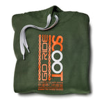 SCOOT Go Ride Khaki Green Hoodie