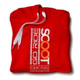 SCOOT Go Ride Red Surf Hoodie