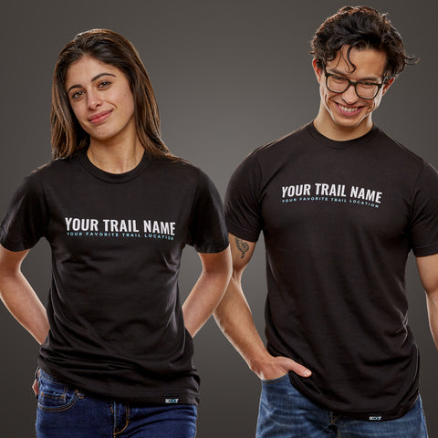 Create Your Own Trail Name T-Shirt