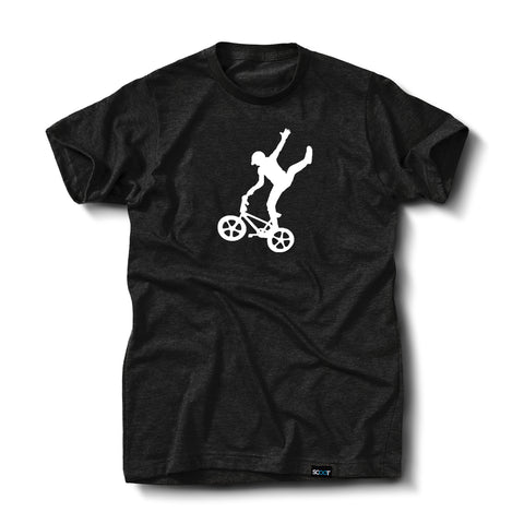 Mike Buff Black & White Logo Tee
