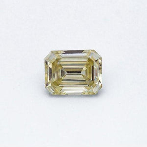 2.5 Carat Canary Yellow Emerald Cut