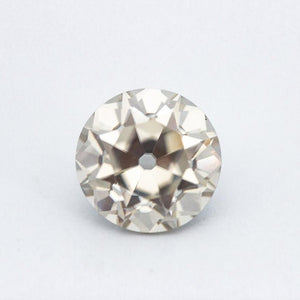 3.5 Carat Vintage White Old European Cut