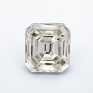 6.5 Carat Vintage White Old Mine Asscher