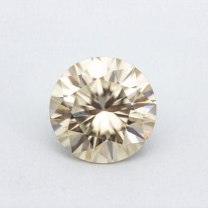 3 Carat Canary Yellow Brilliant Round Cut