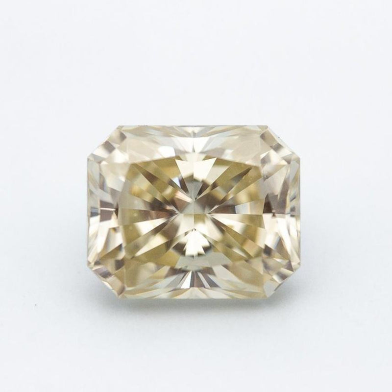 4.7 Carat Canary Yellow Elongated Radiant Cut