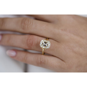 4 Carat (10.5x8mm) Vintage White Old Mine Cushion Cut Moissanite Loose Stone with Long, Rounded Cutlet - IN STOCK!