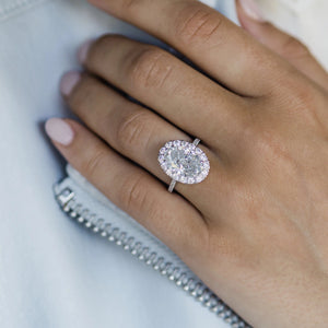 The Pearla Ring (5.7 Carat Center)