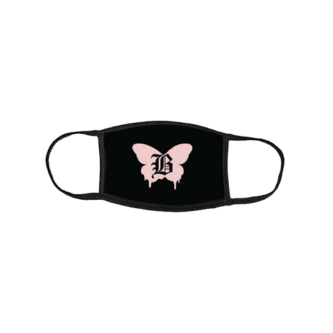 Baby Goth Butterfly Mask