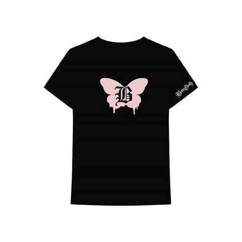 Baby Goth Butterfly T-Shirt