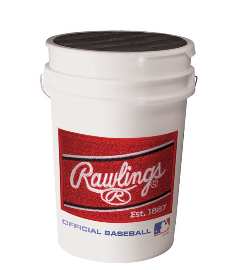 Rawlings Official League Competition Grade Youth Baseballs, Bucket of 30