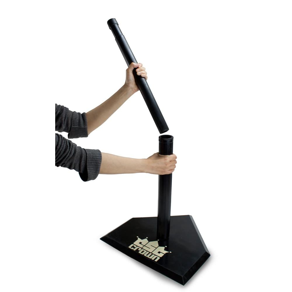 Adjustable Youth Baseball Batting Tee Made from Heavy Rubber - Sporting Goods