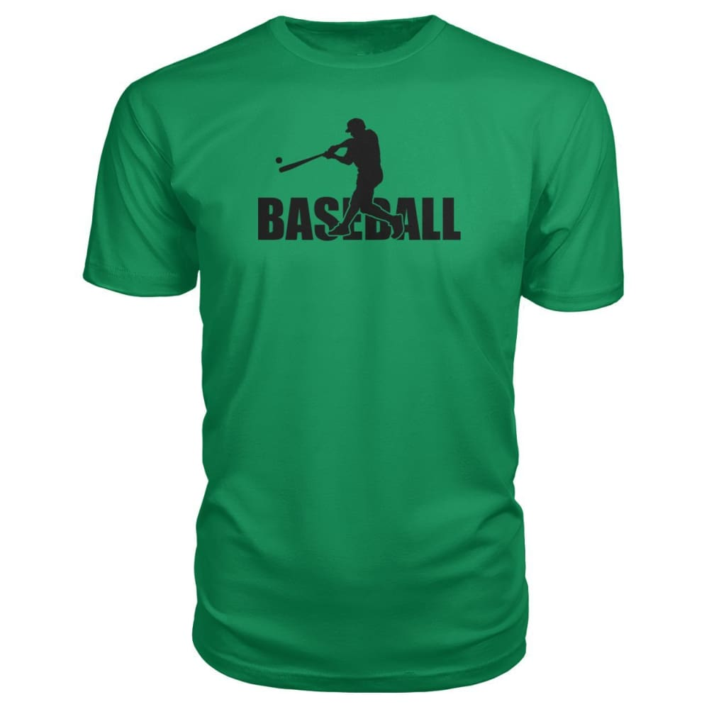 Baseball Home Run Premium Tee - Green Apple / S / Premium Unisex Tee - Short Sleeves