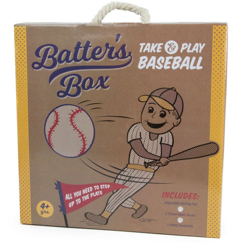 Image of Batters Box Take & Play Baseball Set - Sporting Goods
