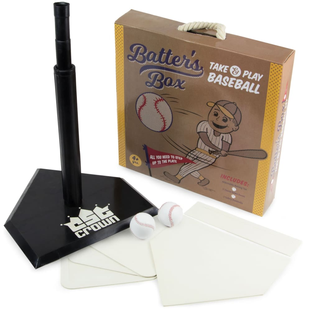 Batters Box Take & Play Baseball Set - Sporting Goods
